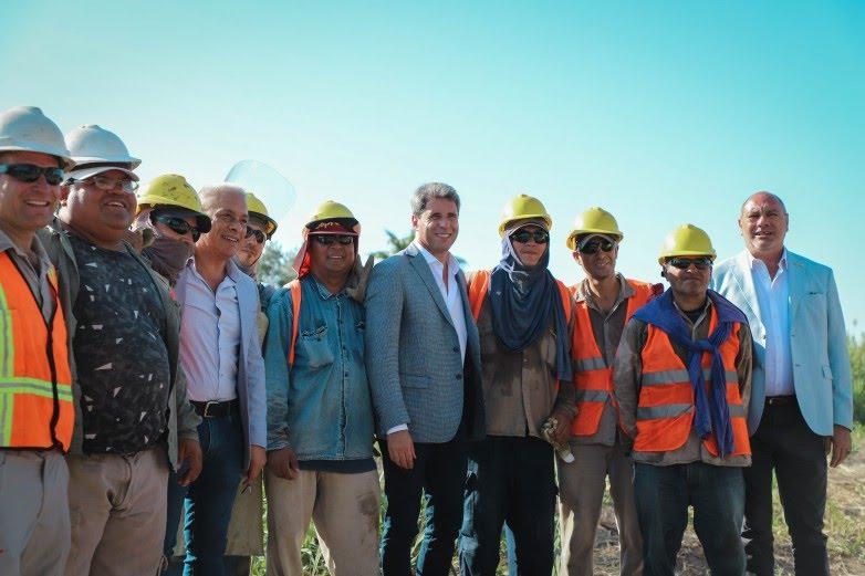 Gobierno invirtió más de $60 millones en obras de gas y seguridad vial para los vecinos de 25 de Mayo